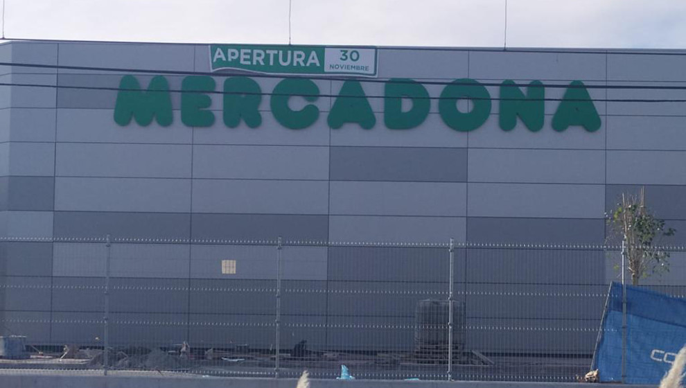 Mercadona Centro comercial Bahia Real en Cantabria