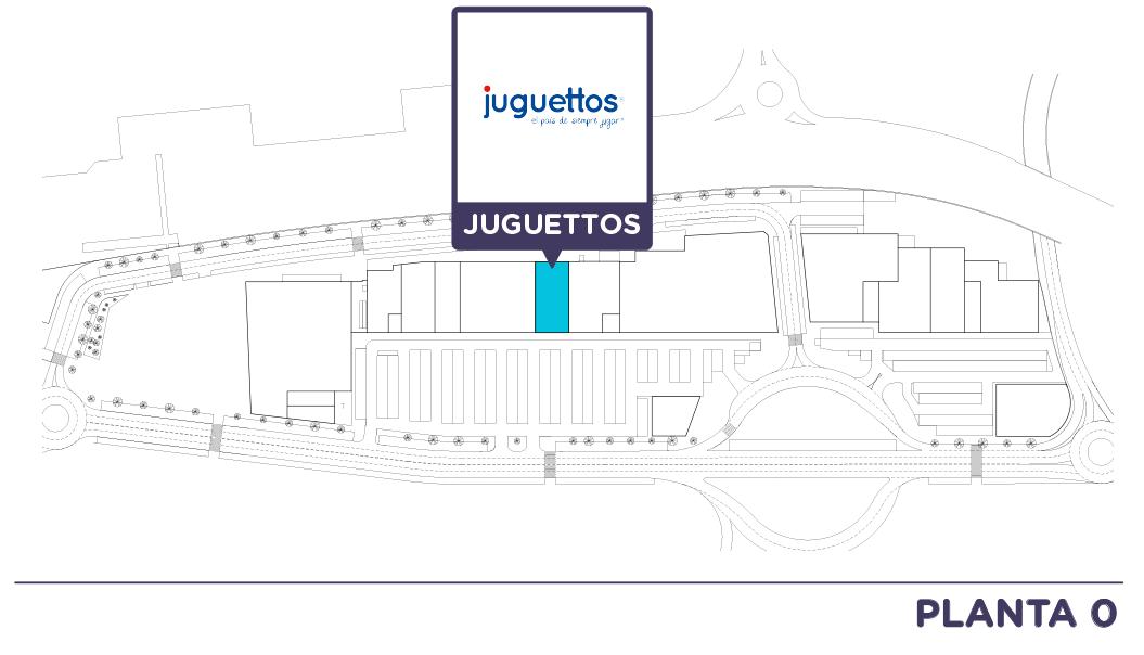 Localizacion Juguettos en Centro comercial Bahia Real