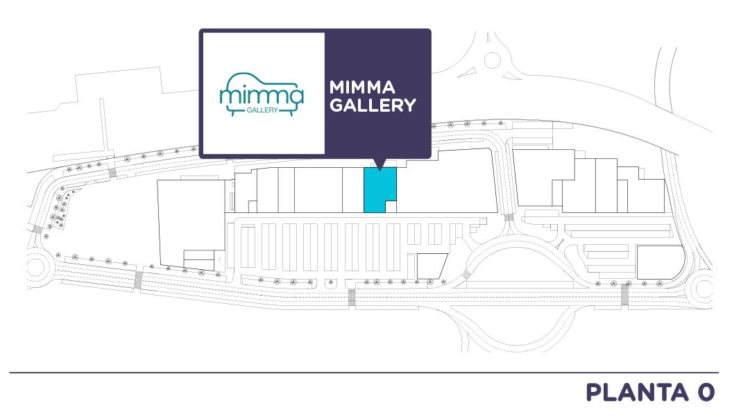 Localizacion Mimma en Centro comercial Bahia Real