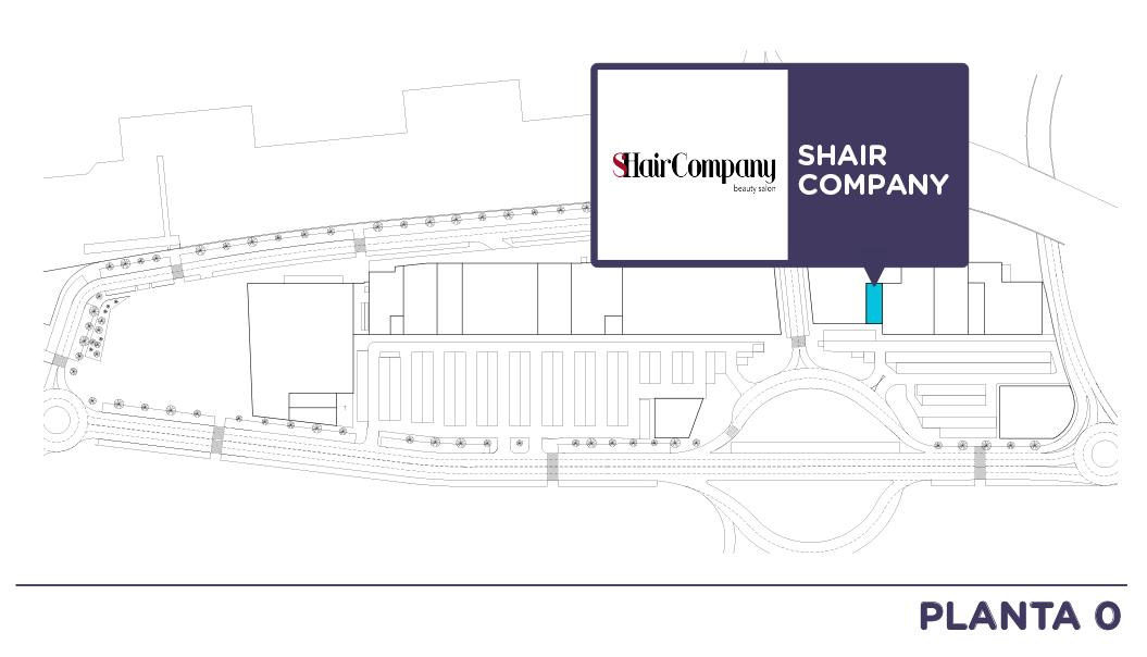 Localizacion Shair company en Centro comercial Bahia Real