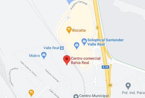 ubicación Bahia Real mapa